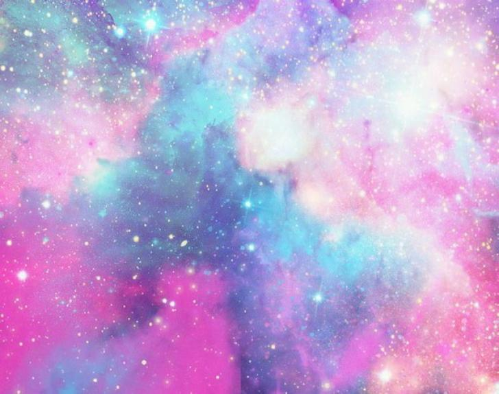 Cotton Candy Galaxy Chrome Theme Themebeta