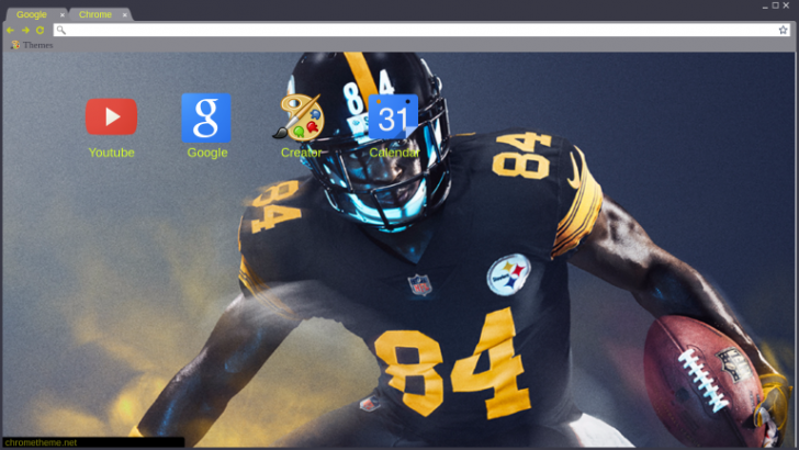 best service 03423 29686 Antonio Brown Color Rush Chrome Theme - ThemeBeta