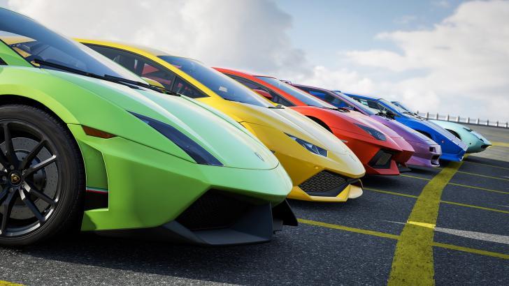Lamborghini Rainbow Xd Chrome Theme Themebeta