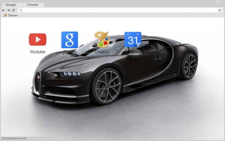 bugatti chiron carbon fiber chrome theme themebeta