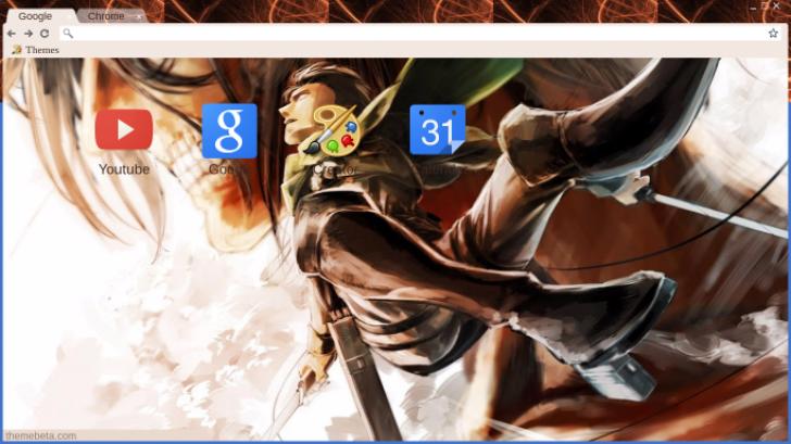 Attack on Titan Chrome Theme - ThemeBeta