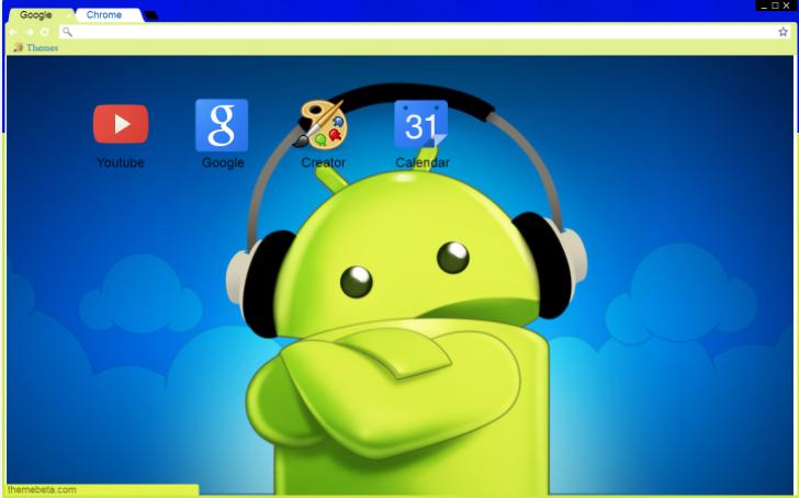 Cool Android Chrome Theme - ThemeBeta
