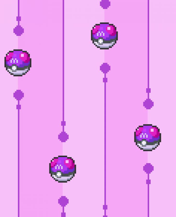 Pokemon Master Ball Theme Chrome Theme