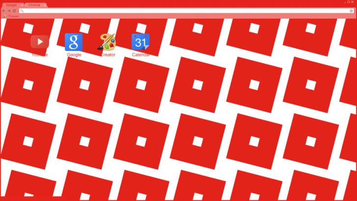Roblox Logo Theme Chrome Theme Themebeta