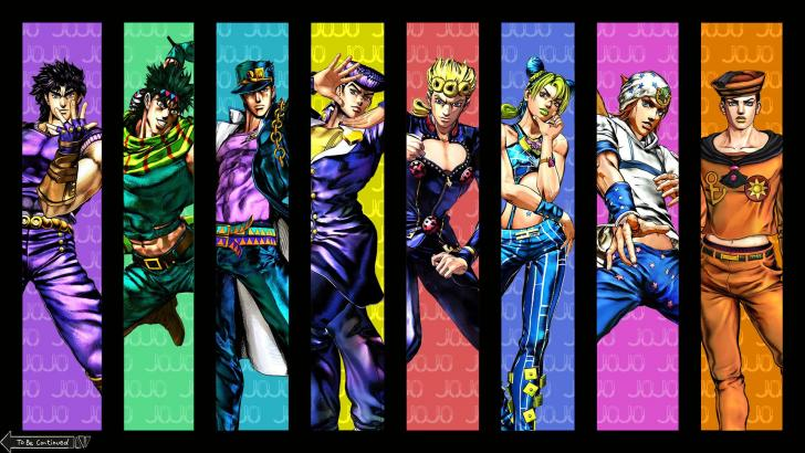 Joestar Family Tree Jojo S Bizarre Adventure Chrome