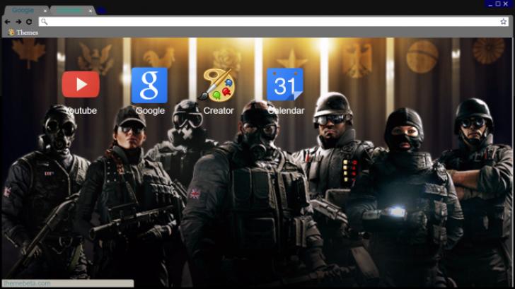Rainbow Six Siege Wallpaper Hd Chrome Theme Themebeta