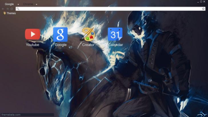Assassins Creed Ghostrider Chrome Theme Themebeta