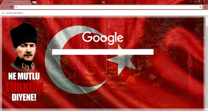 Atatürk Theme 1 0 Chrome Theme - ThemeBeta