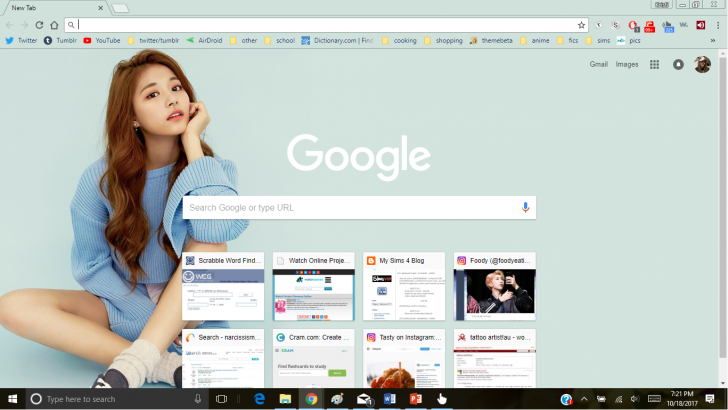 Kpop Chrome Themes Themebeta