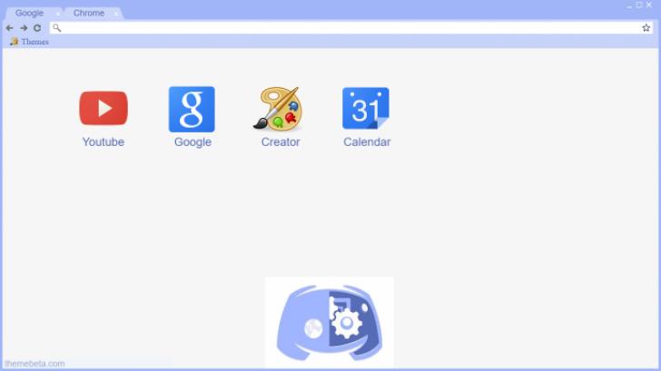 Discord bot Chrome Theme - ThemeBeta