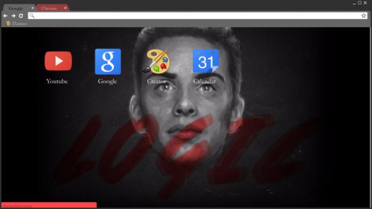 Logic Wallpaper Chrome Theme