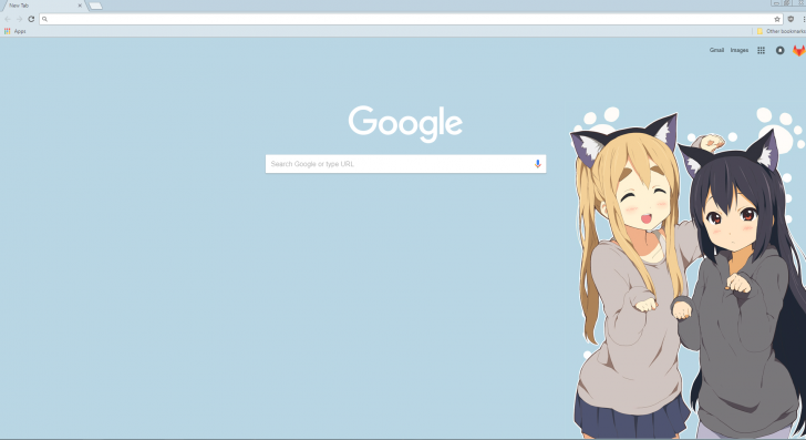 how to change google chrome theme background image