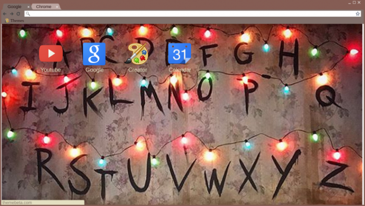 Stranger Things Christmas Lights Png.Stranger Things Christmas Lights Theme Chrome Theme Themebeta