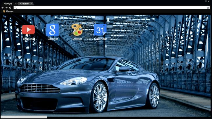 2007 Aston Martin Dbs Chrome Theme Themebeta