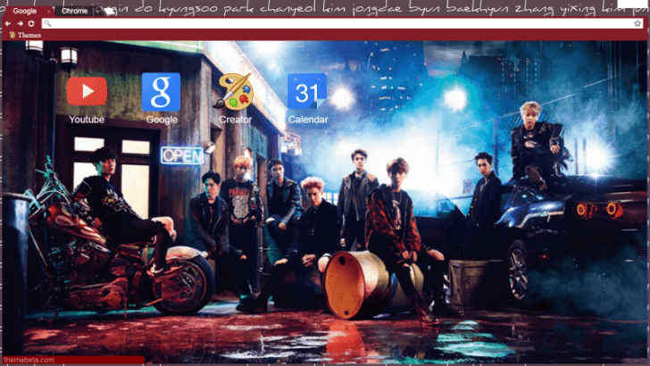 Exo 1920x1080 Chrome Theme Themebeta