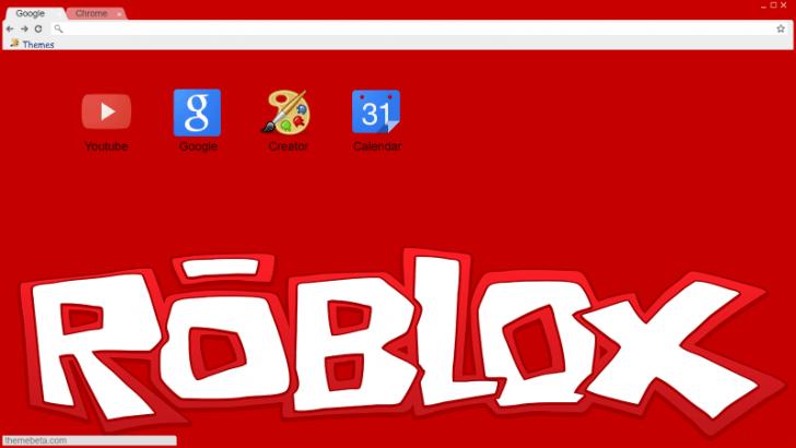 Roblox Theme 2 Old Logo Again Chrome Theme Themebeta