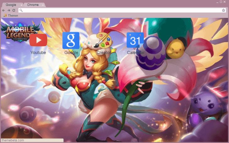 Mobile Legends - Rafaela - Flower Fairy Chrome Theme - ThemeBeta