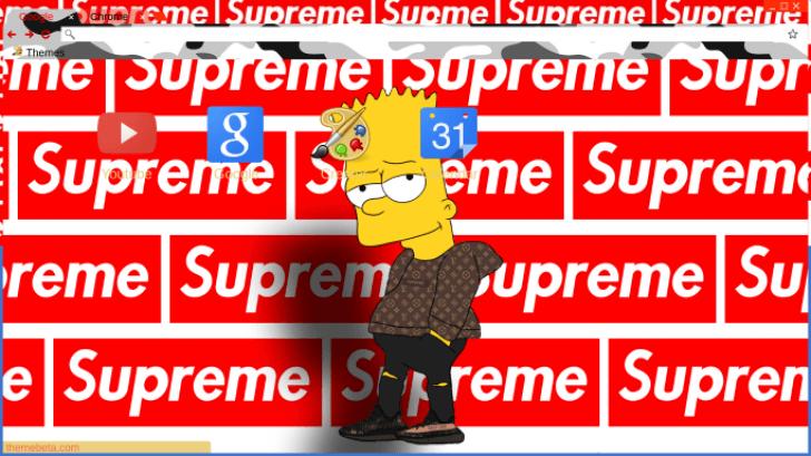 Bart Simpson Wallpaper Supreme Gadget And Pc Wallpaper