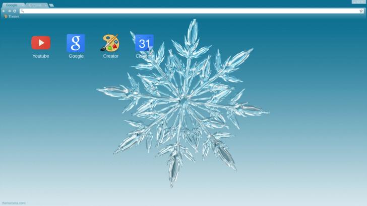 special snowflake chrome theme themebeta