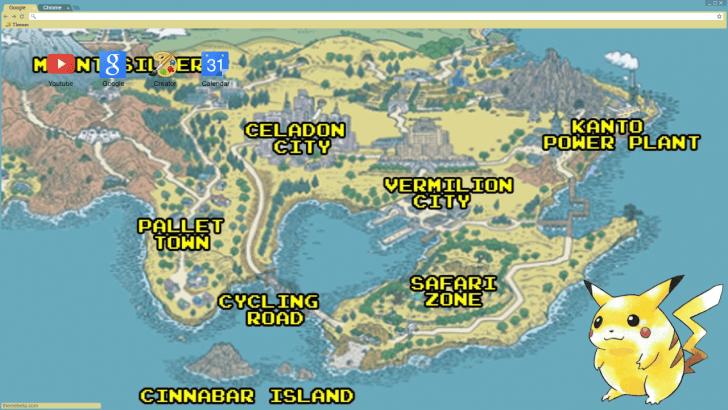 Pokémon Kanto Region Map Chrome Theme - ThemeBeta on tokyo map, chubu map, kanagawa map, unova map, heartgold map, jhoto map, tohoku map, sinnoh map, london map, kyushu map, pokemon yellow map, hokkaido map, all pokemon regions world map, kyoto map, hoenn map, nara map, sevii islands map, nagasaki prefecture map, pokemon x and y map, development map,