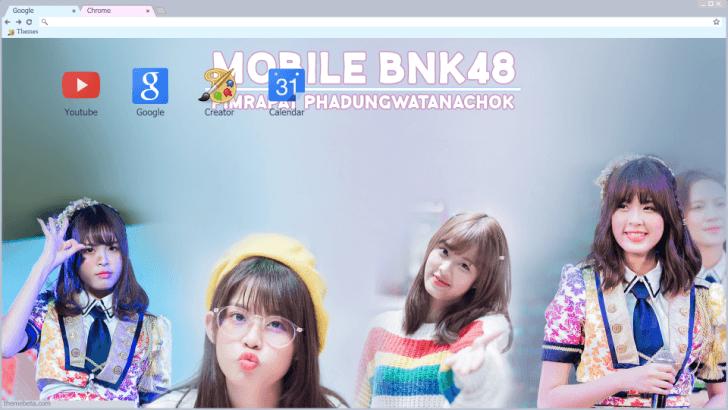 Mobile BNK48 Chrome Theme - ThemeBeta