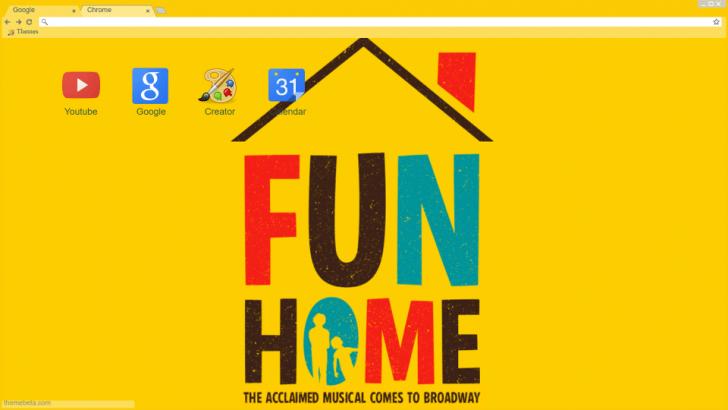 Fun home theme Chrome Theme - ThemeBeta