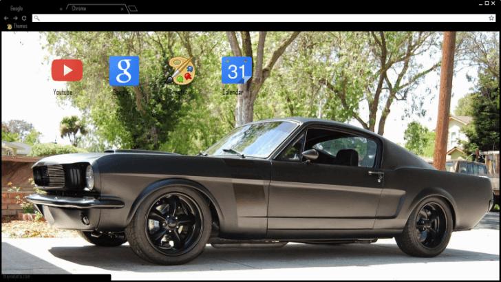 1965 Ford Mustang Gt Fastback Matte Black
