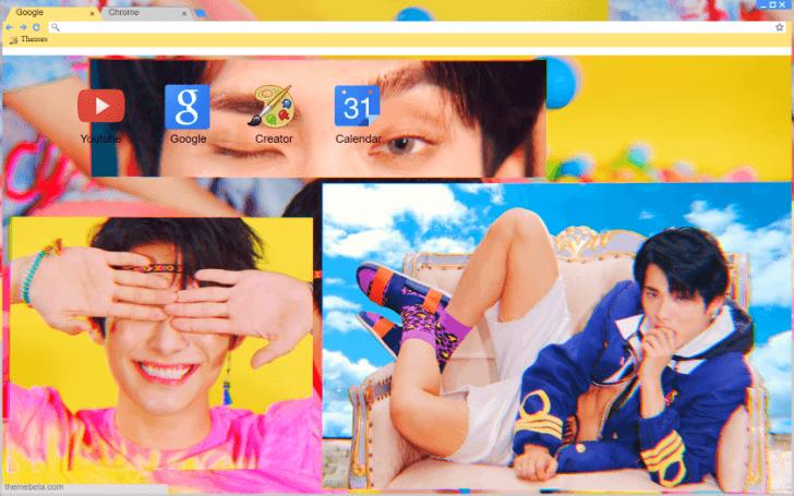 Kpop Ace Jun Take Me Higher Wallpaper Chrome Theme Themebeta
