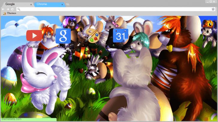 Transformice Fanart Chrome Theme - ThemeBeta