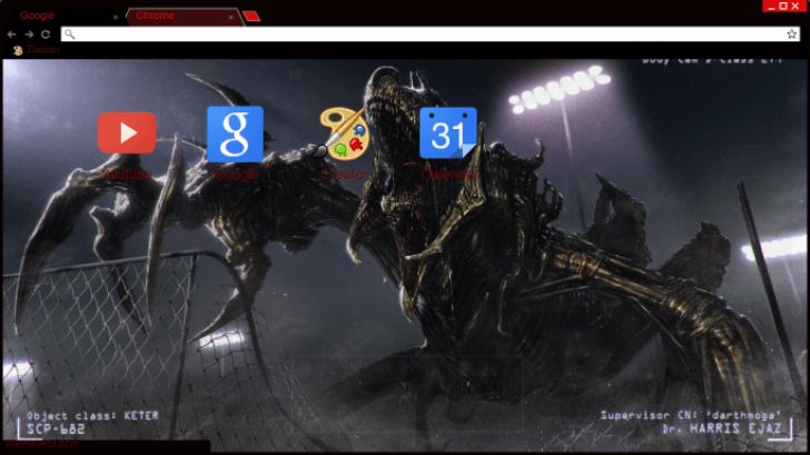 scp Chrome Theme - ThemeBeta