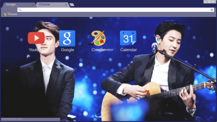 Chansoo Exo Wallpaper Chrome Theme Themebeta