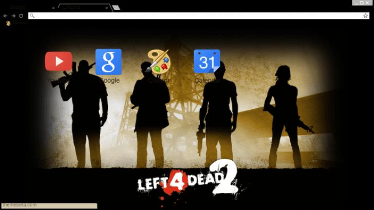 Left 4 Dead 2 Survivors Chrome Theme - ThemeBeta
