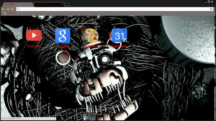 Molten Freddy Chrome Theme - ThemeBeta