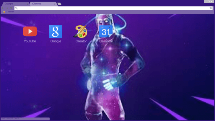 Yeet Mr Mc Yeet Fortnite Chrome Theme Themebeta