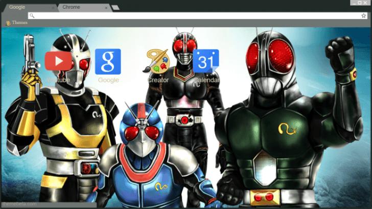 Kamen Rider Black RX Chrome Theme - ThemeBeta