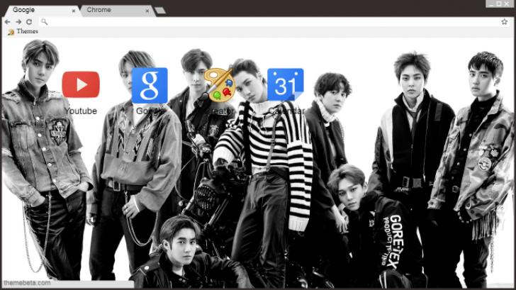 Exo Don T Mess Up My Tempo Chrome Theme Themebeta
