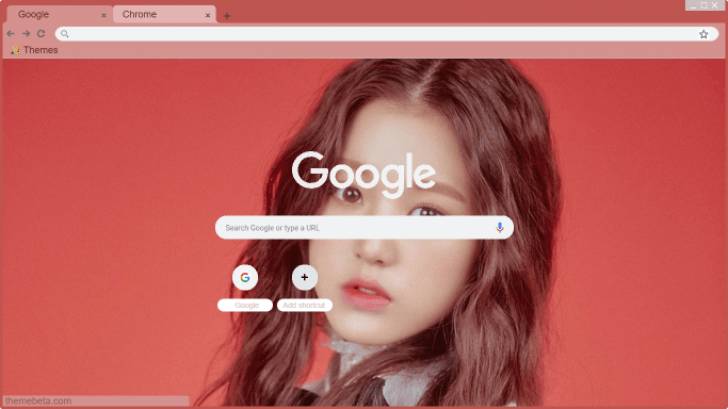 IZ*ONE Jang Wonyoung (4) Chrome Theme - ThemeBeta