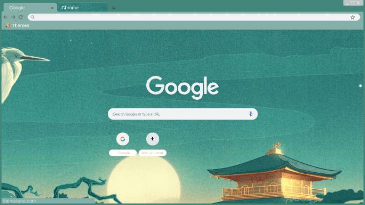 Japanese Art Chrome Theme - ThemeBeta