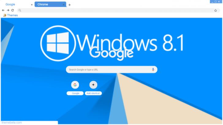 windows 8 1 theme Chrome Theme - ThemeBeta