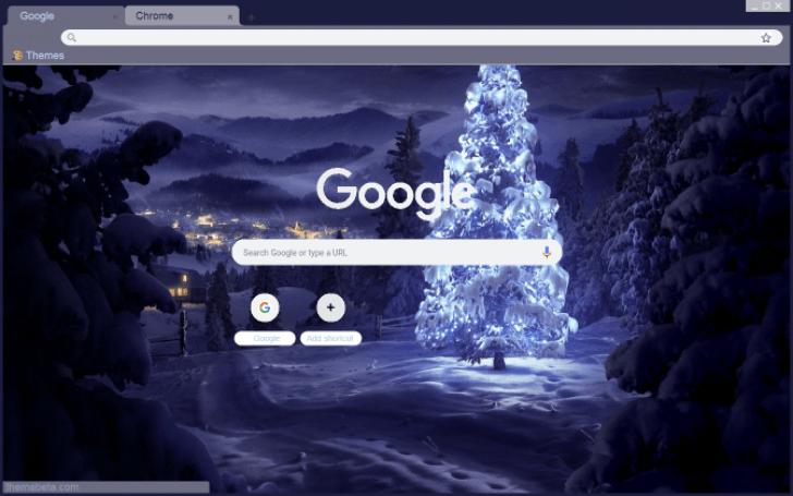 Зимний Снегопад День Ночь HD Темы для Андроид - скачать APK | 455x728