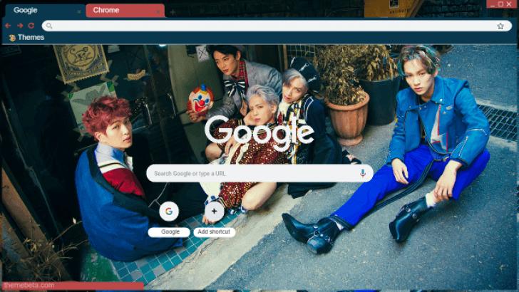 Shinee View Chrome Theme - ThemeBeta