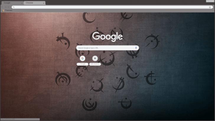 Brandon Sanderson Allomantic Symbols Mistborn Chrome Theme