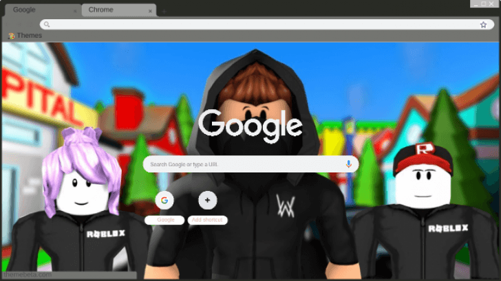 Alan Walker with guest ROBLOX Chrome Theme - ThemeBeta