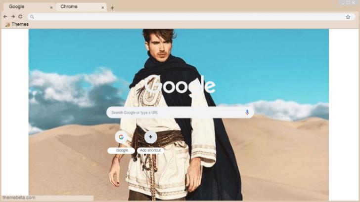 Joey Graceffa Kingdom Chrome Theme - ThemeBeta