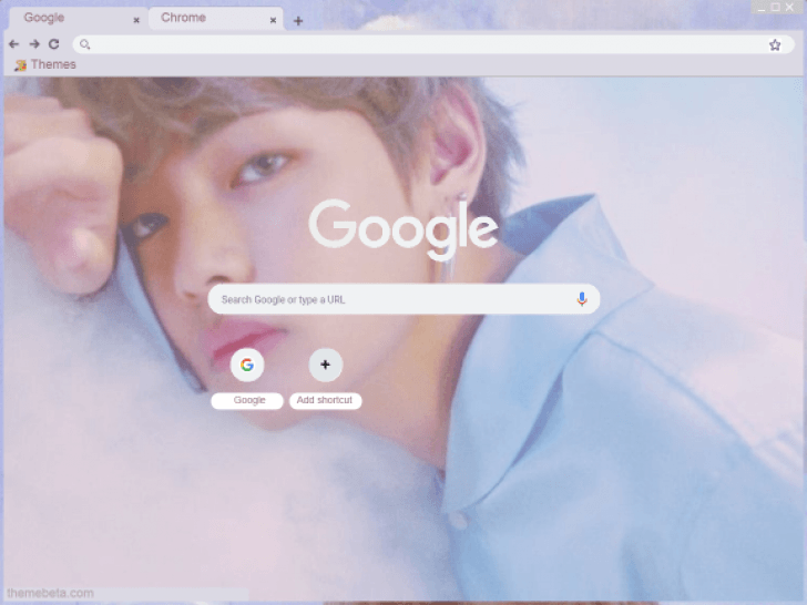 Taehyung Tumblr Chrome Theme - ThemeBeta