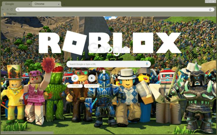 Roblox Chrome Theme - ThemeBeta