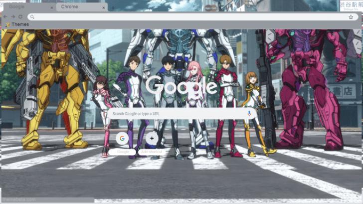 Revisions Anime Netflix Chrome Theme - ThemeBeta