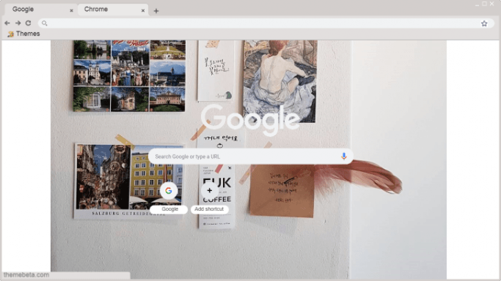 Tumblr Aesthetic 1 Chrome Theme - ThemeBeta