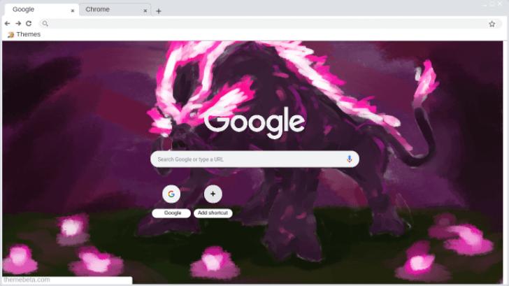 Dark Beast Ganon Chrome Theme Themebeta