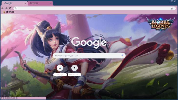 Miya Suzuhime Mobile Legends Theme Chrome Theme - ThemeBeta